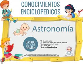 Portada Conocimientos Enciclopedicos Metodo Doman Astronomia
