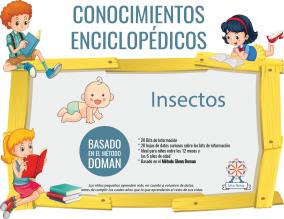 Portada Conocimientos Enciclopedicos Metodo Doman Insectos