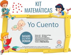 Portada Yo Cuento Kit Doman Matematicas