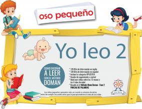 Portada Yo Leo 2 Kit Doman Fase 2 Parejas de Palabras