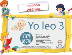 Portada Yo Leo 3 Kit Doman Fase 3 Oraciones